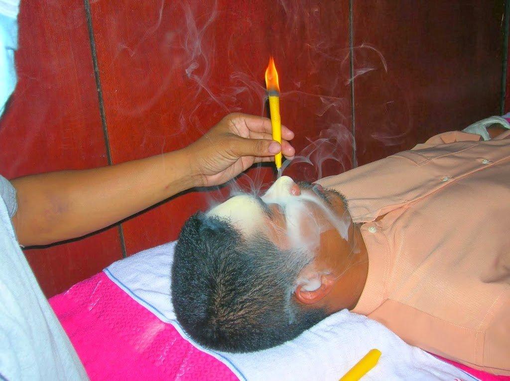 Adakah Resdung boleh diubati dengan menghidu asap ataupun habuk kayu???