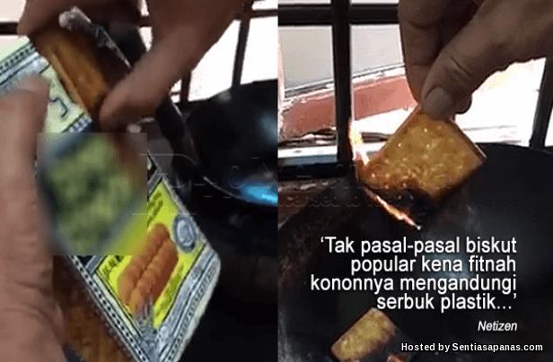 Mengapa barang makanan dan sabun terbakar menjadi hitam?