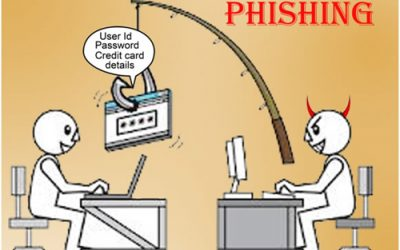 Memancing (Phishing) di laman maya.