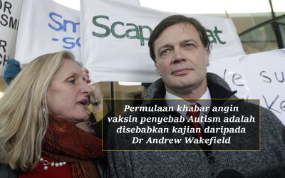 Kajian Doktor Andrew Wakefield: Vaksin penyebab Autism??