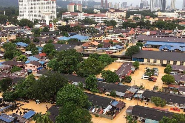 Banjir di Pulau Pinang – Mengapa begitu dahsyat?