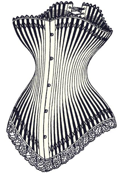 Kesan penggunaan corset pada tubuh badan