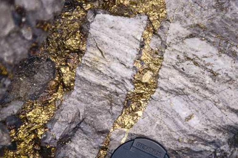 Proses pembentukan emas