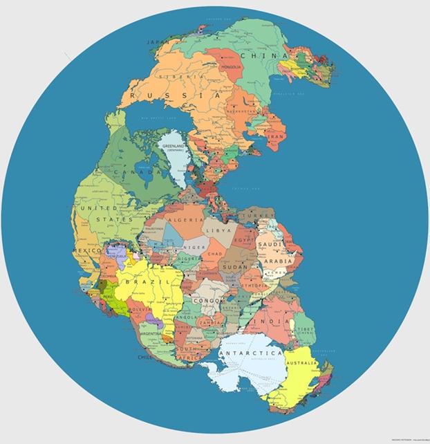 Peta Pangea