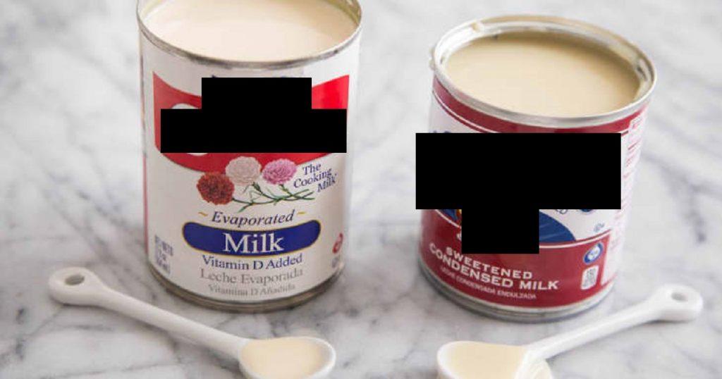 jenis susu tin