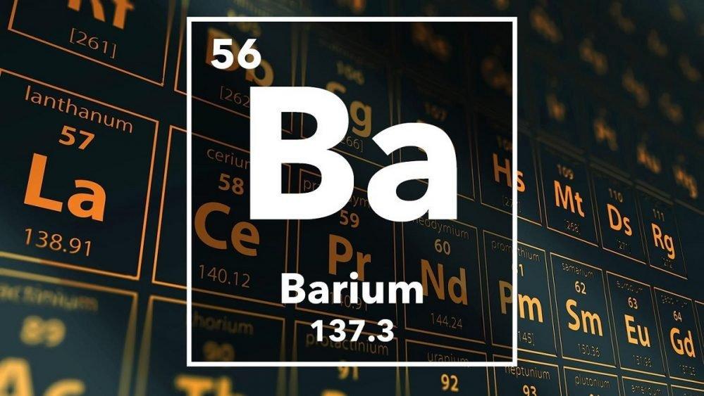 sifat barium