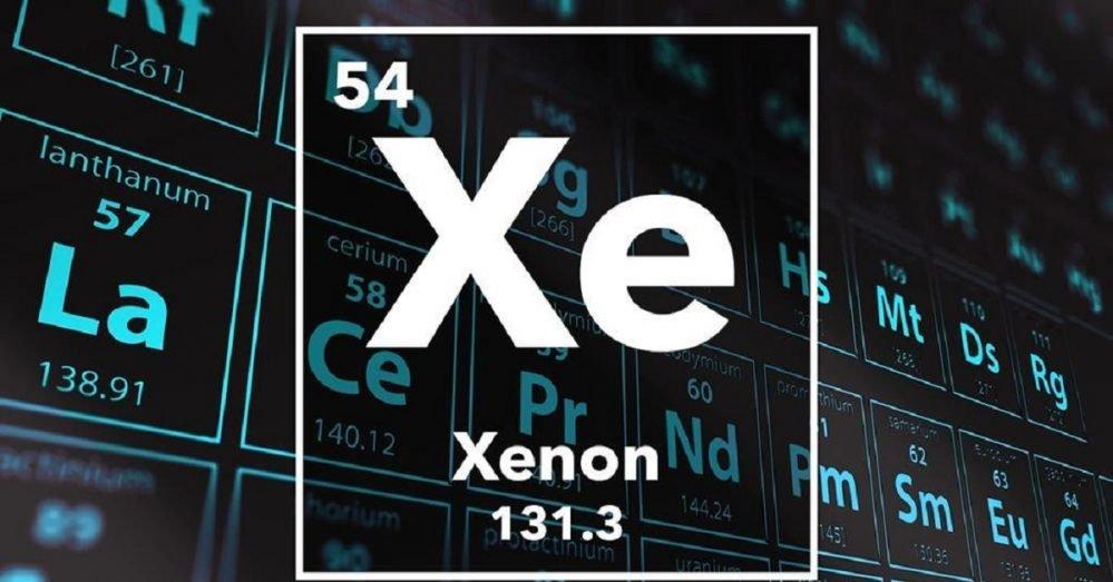 sifat xenon