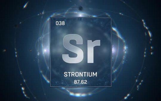 unsur strontium